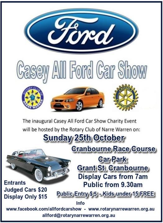 sc 1 st  Casey-Cardinia Rotaract & Casey All Ford Car Show - Casey-Cardinia Rotaract markmcfarlin.com