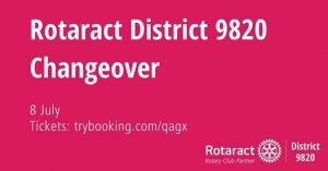 District 9820 Changeover 2017 @ Ranfurlie Golf Course